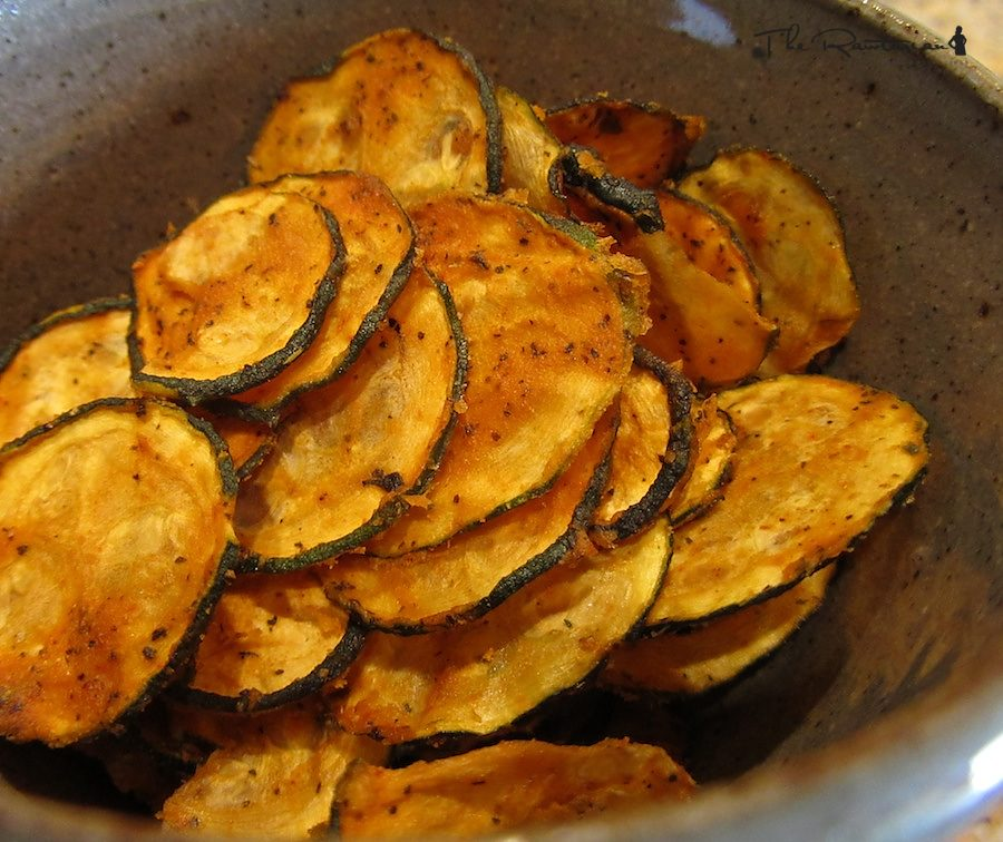 Raw spicy zucchini chips the rawtarian forumfinder Choice Image