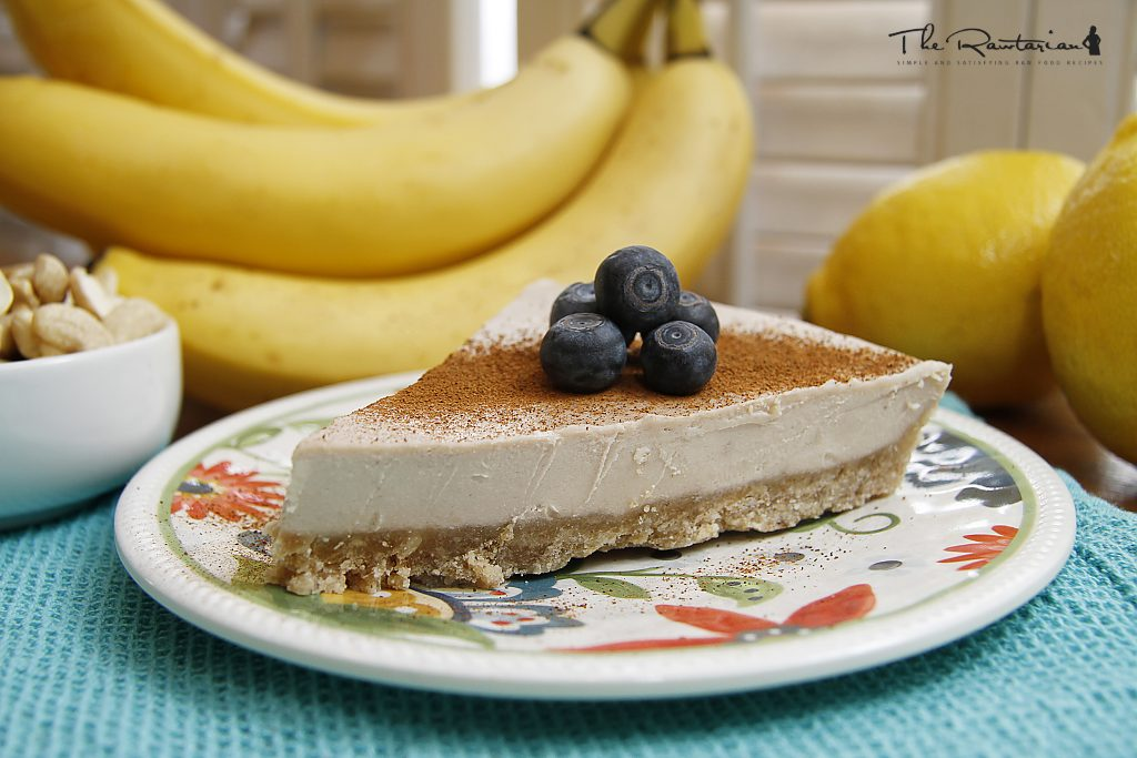 Raw Banana Cream Pie Recipe The Rawtarian