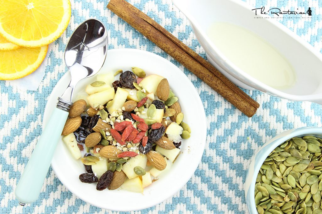 Raw breakfast cereal recipe the rawtarian recipe photos forumfinder Image collections