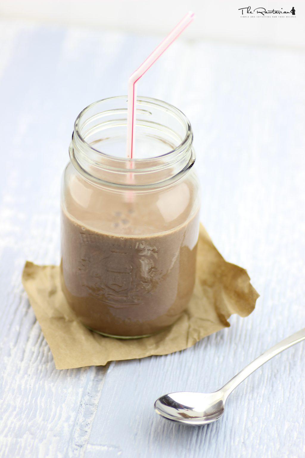 Raw chocolate shake recipe | The Rawtarian