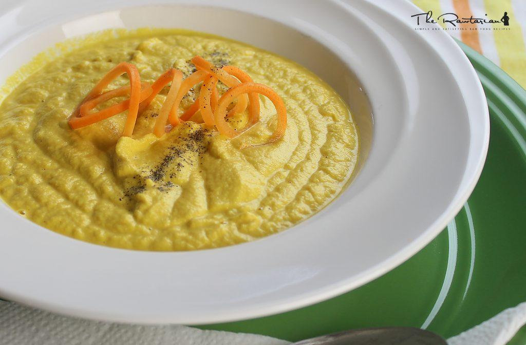 Raw creamy carrot soup recipe the rawtarian raw creamy carrot soup recipe forumfinder Gallery