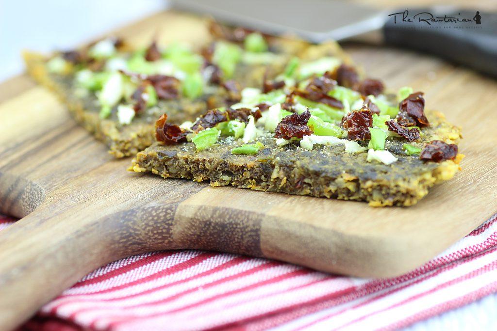 Raw pizza crust recipe the rawtarian raw pizza crust recipe forumfinder Images
