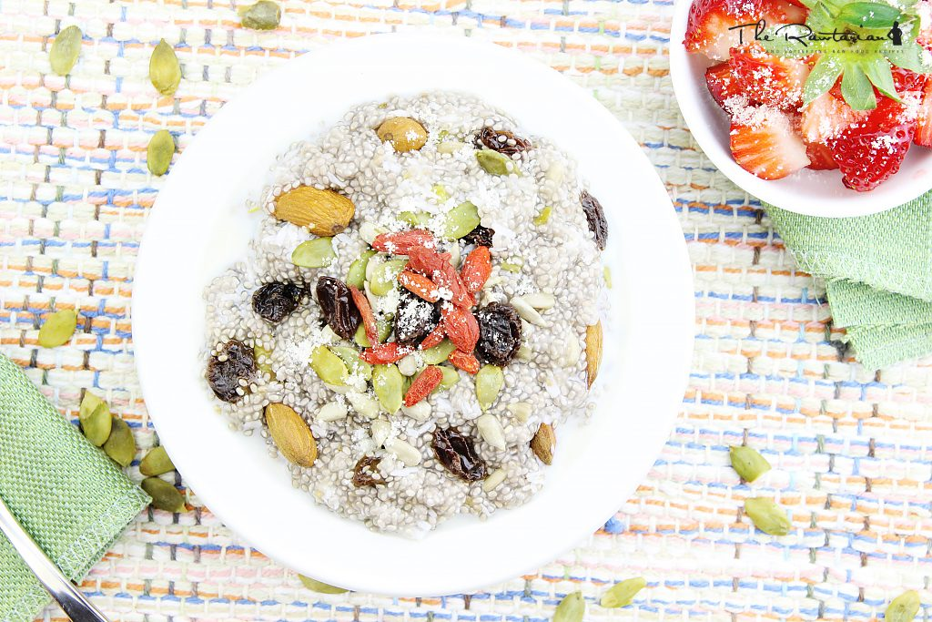 Raw food recipes for breakfast the rawtarian this raw porridge recipe is also a very quick to prepare raw food recipe for breakfast just add water to your chia seeds in a bowl and stir immediately to forumfinder Choice Image