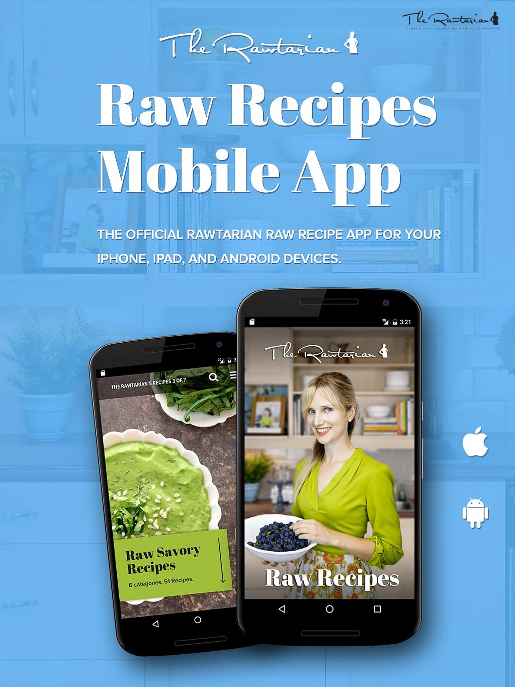 Raw food apps the rawtarian if youre always looking for new raw vegan dishes to prepare or keep going back to the website for those particular recipes youre so fond of forumfinder Images