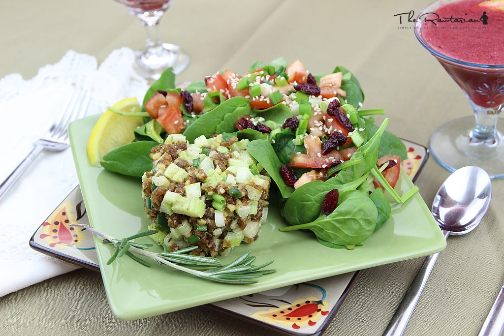 Top raw vegan recipes for the holidays the rawtarian walnuts dates and celery are the key ingredients for this scrumptious raw stuffing include this stuffing at your next holiday meal your guests will be forumfinder Images