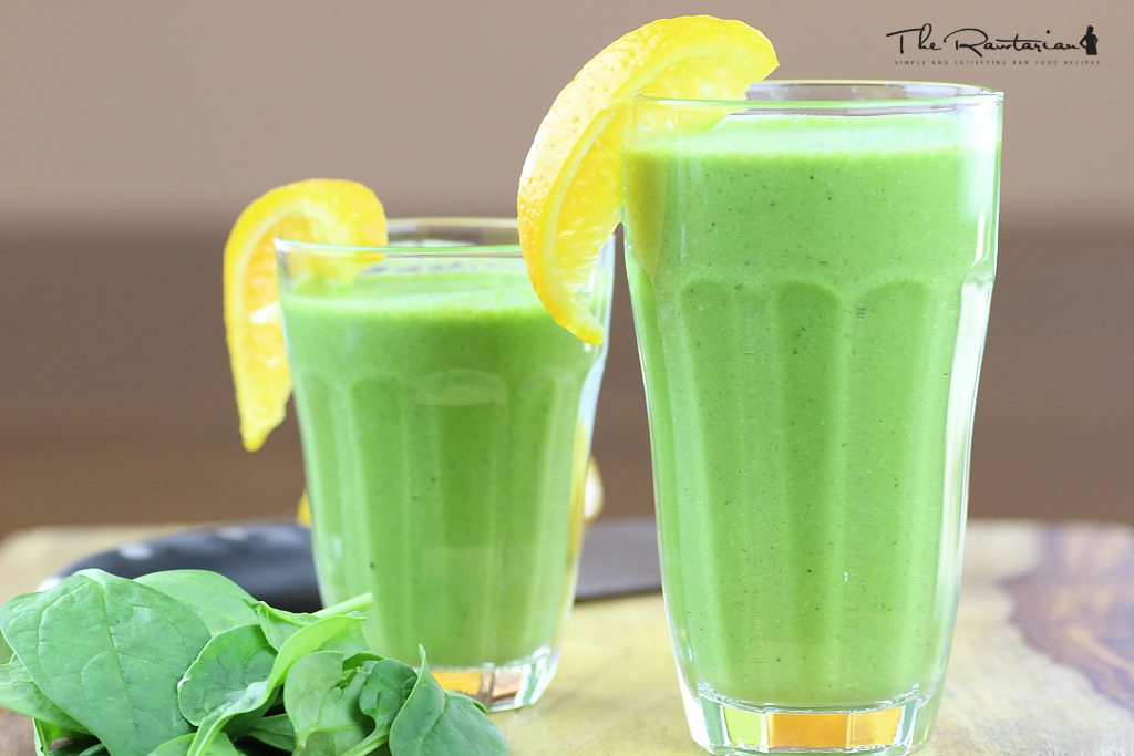 Raw food recipes for breakfast the rawtarian in making this silky green smoothie recipe you just need to dump in all your fresh fruits and spinach and the rest of the ingredients in a high speed forumfinder Choice Image