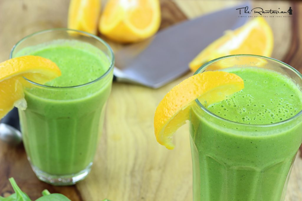 Rawtarian S Silky Green Smoothie Recipe