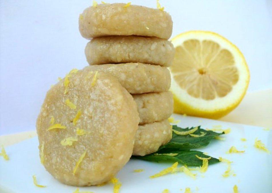 Lemon Icebox Cookies The Rawtarian