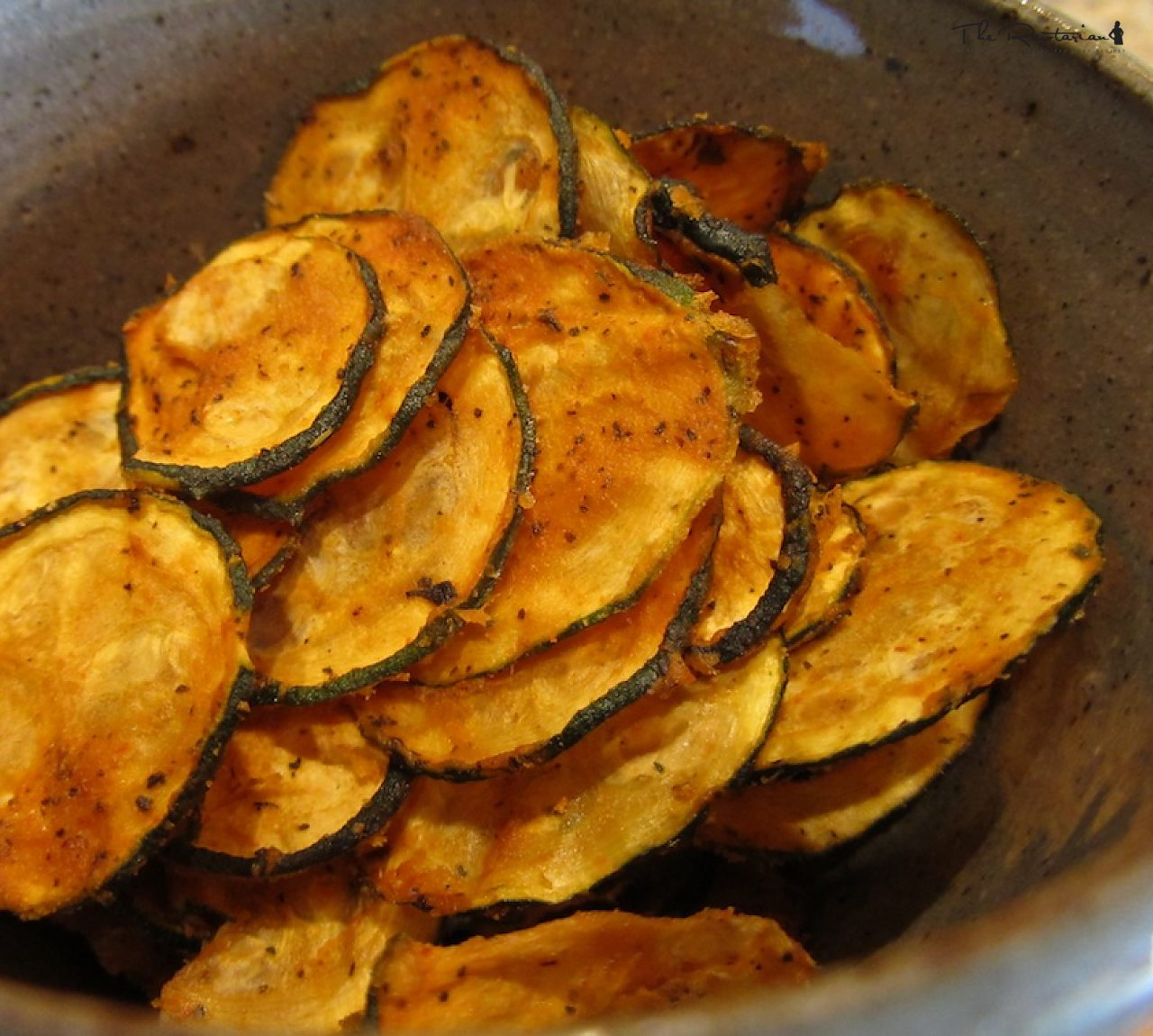 Raw Spicy Zucchini Chips | The Rawtarian