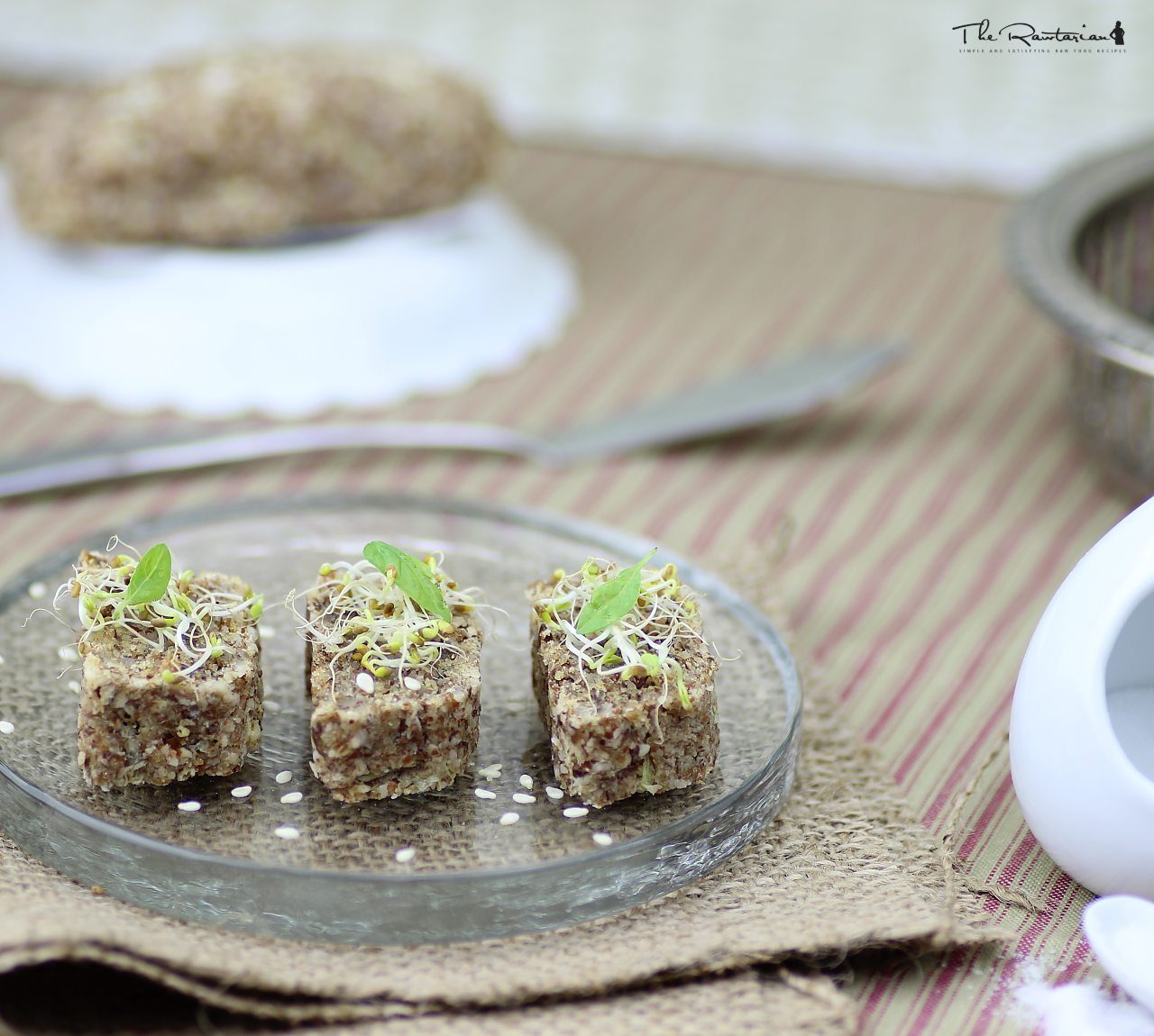 Raw bread recipe moist spongy loaves the rawtarian forumfinder Image collections