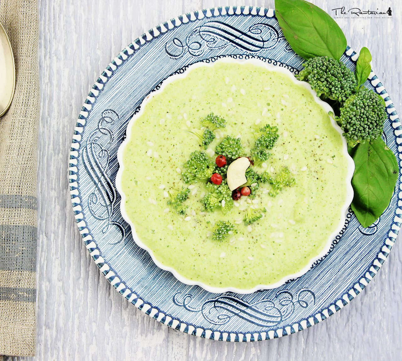 Raw broccoli soup recipe the rawtarian forumfinder Choice Image