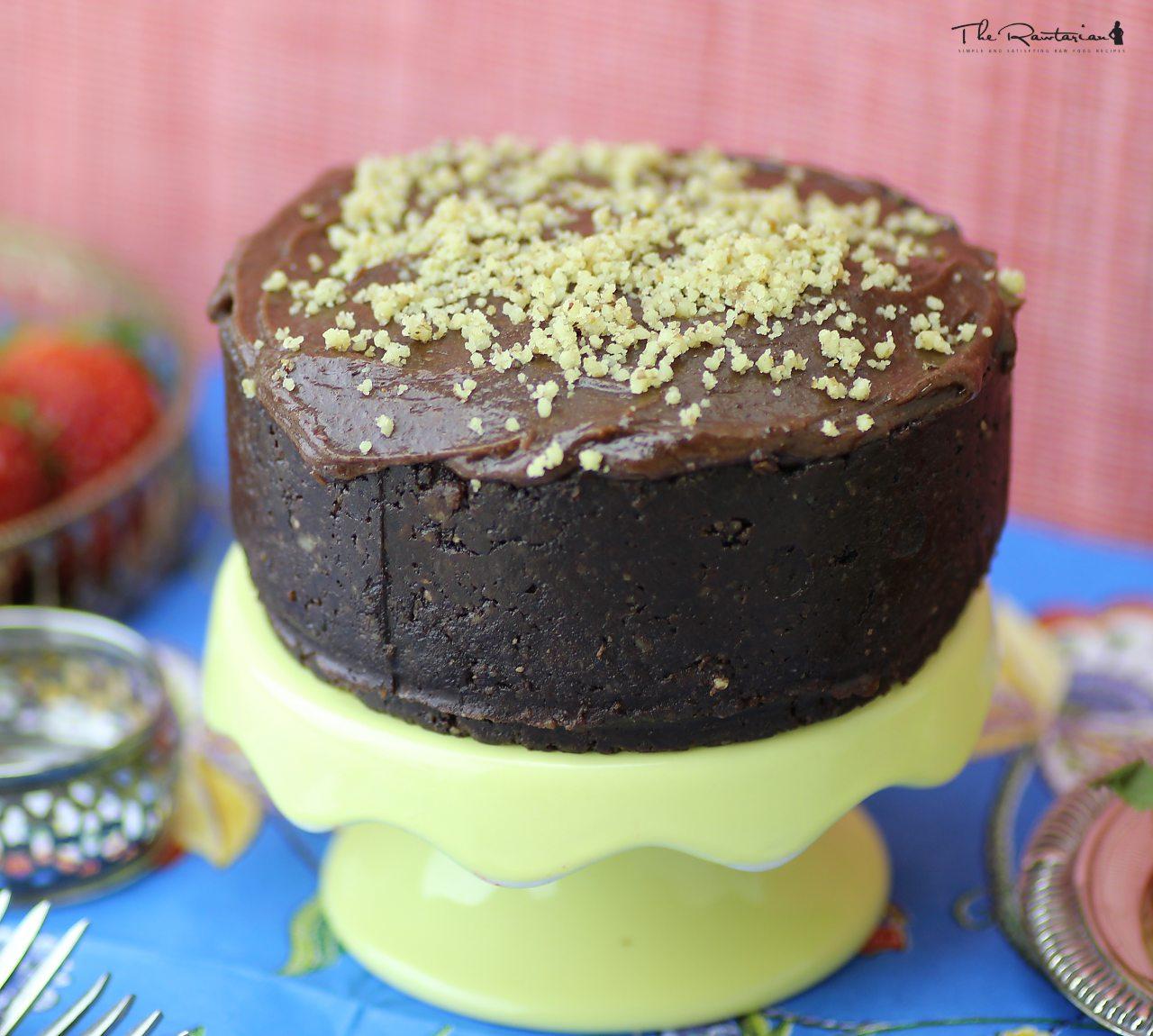 Raw Chocolate Cake Recipe The Rawtarian