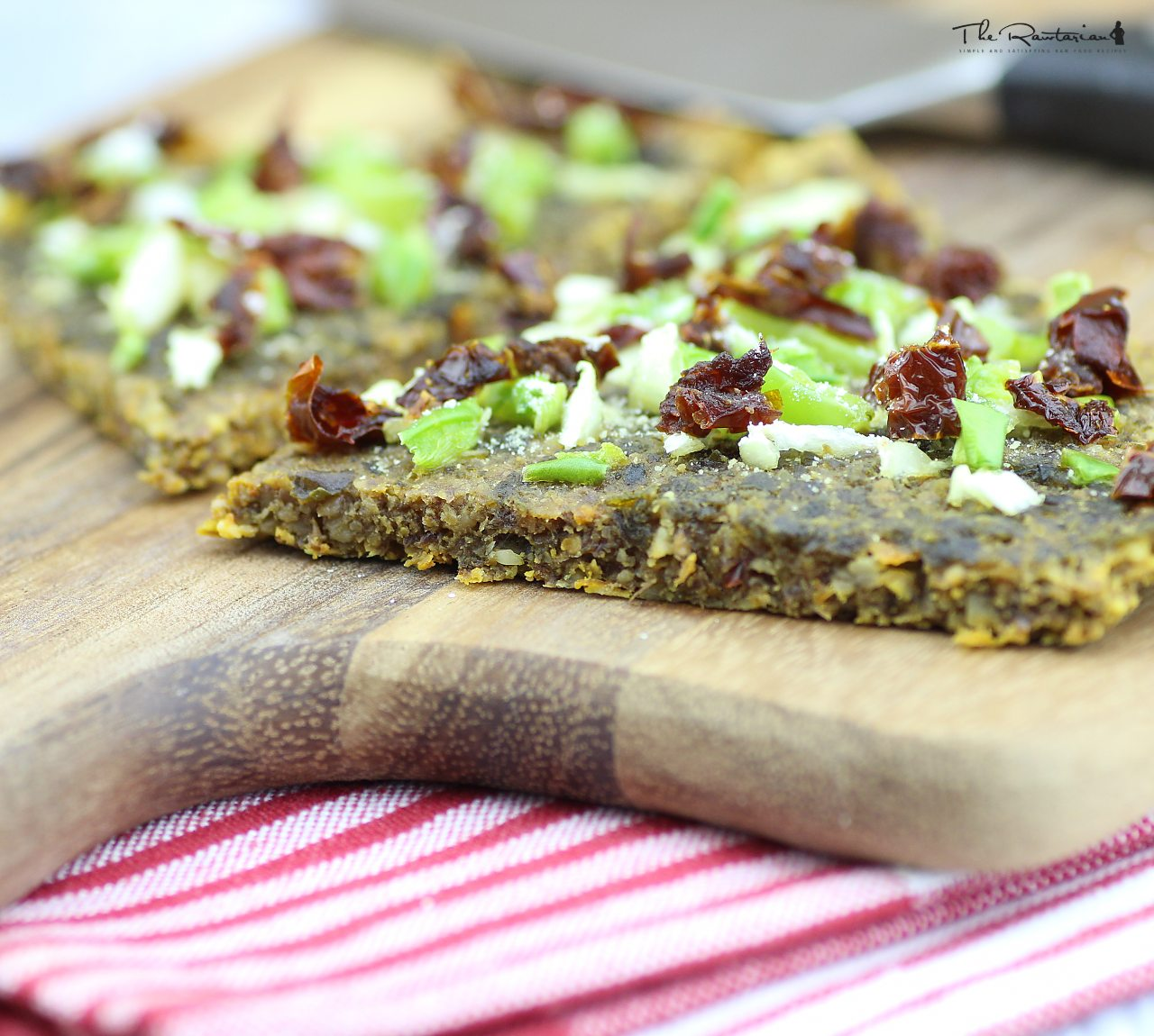 Raw pizza crust recipe the rawtarian forumfinder Gallery
