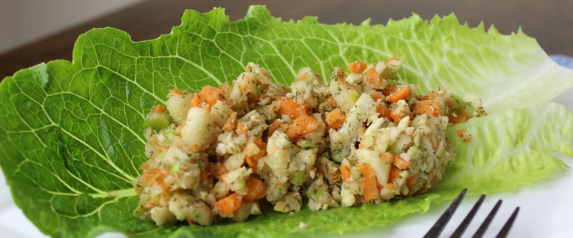 Raw Vegan Chicken Salad Recipe The Rawtarian